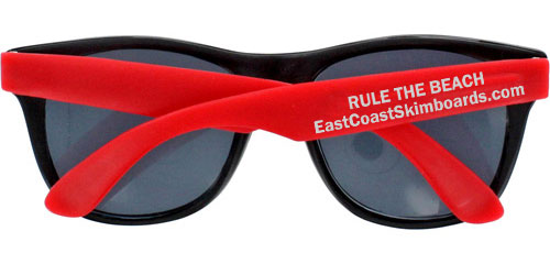 ECS Sunglasses - Red