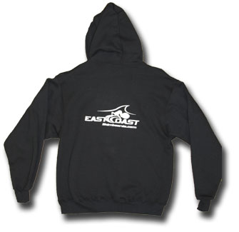 ECS Hooded Pullover - white logo