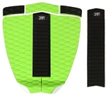 Zap Deluxe Pad Set - Green/Black
