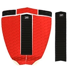 Zap Deluxe Pad Set - Red/Black