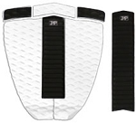 Zap Deluxe Pad Set - White/Black