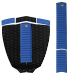 Zap Deluxe Pad Set - Black/Blue